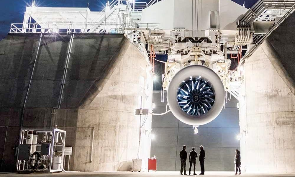 GE9x, the world's largest jet engine