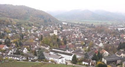 Staufen town Germany