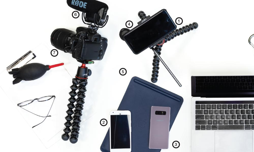 gear you'll need to shoot video