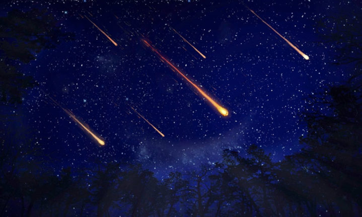 Earth's atmosphere blows up meteors from the inside