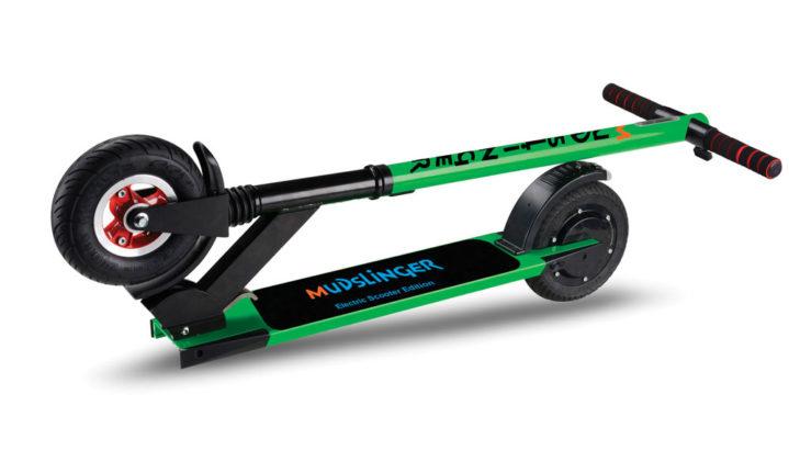 tested mudslinger electric scooter popular mechanics. Black Bedroom Furniture Sets. Home Design Ideas